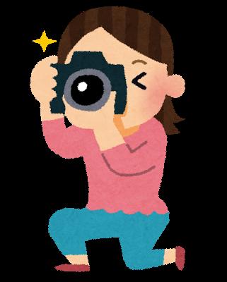 写真を撮る画像