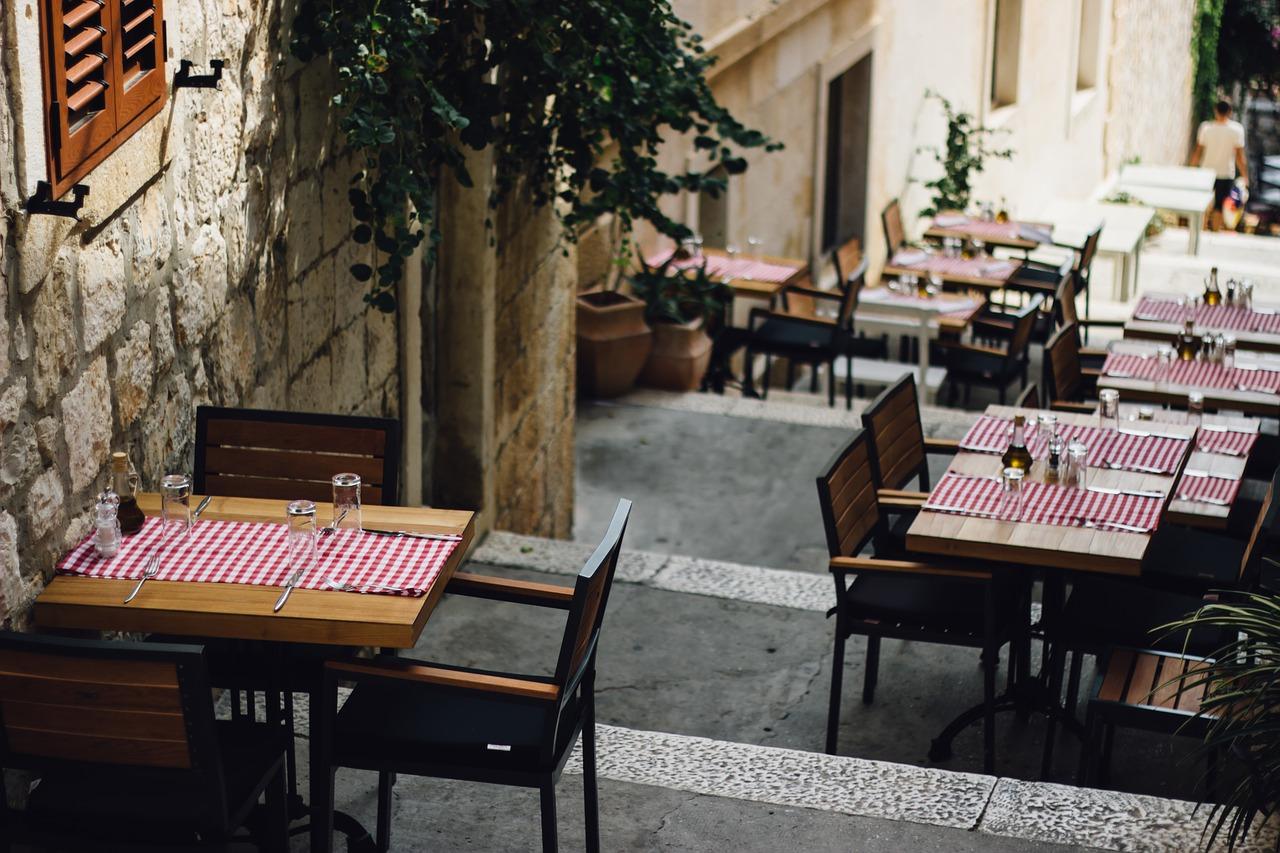 評判のレストラン