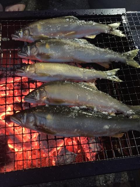 バーベキュー(魚)